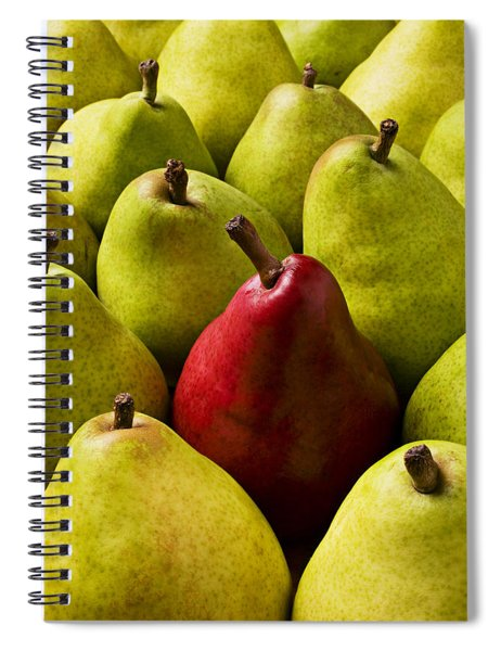 Red And Green Pears  Spiral Notebook