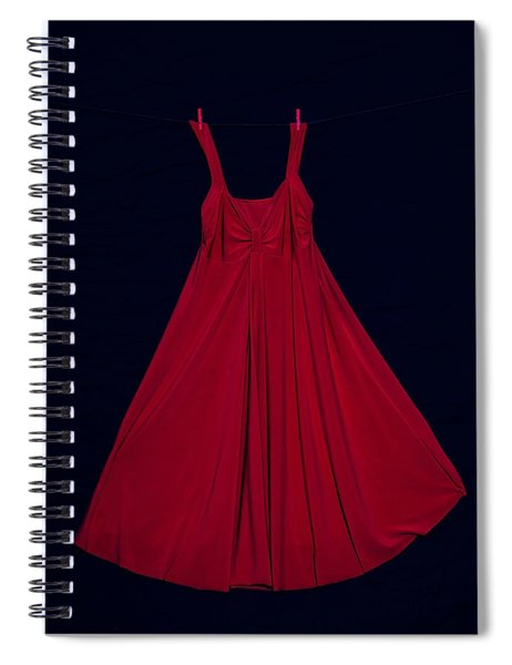 Red Dress Spiral Notebook