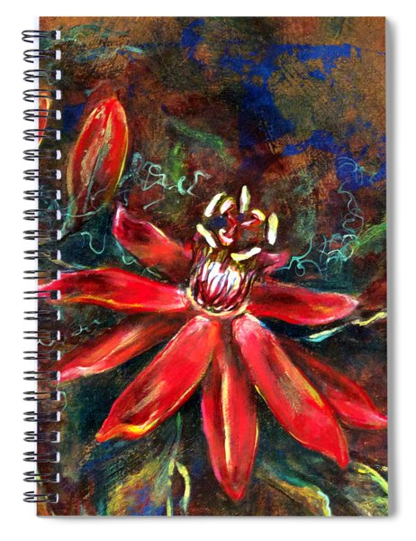 Red Passion Spiral Notebook