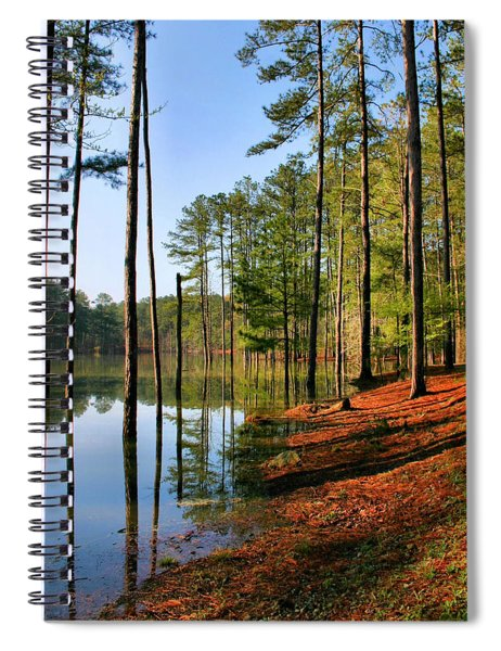 Red Top Mountain Spiral Notebook