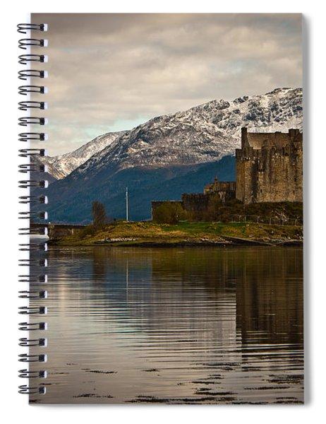 Reflection At Eilean Donan Spiral Notebook