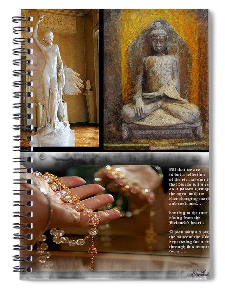 Reflections Of Spirit Spiral Notebook