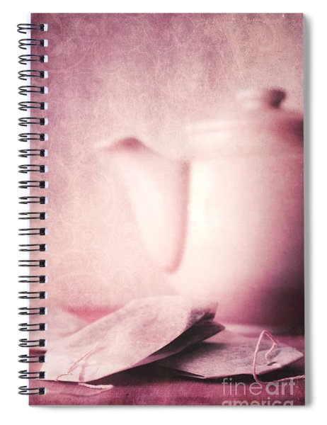 Relaxing Tea Spiral Notebook
