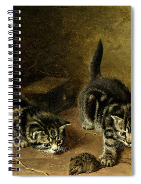 Reluctant Playmate Spiral Notebook