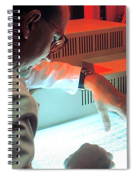 Reviewing Dna Band Pattern Spiral Notebook