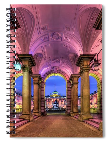 Rhapsody In Pink Spiral Notebook