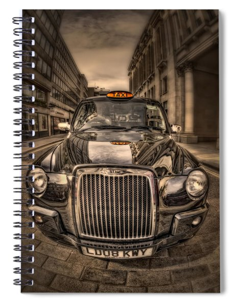 Ride With Me Spiral Notebook