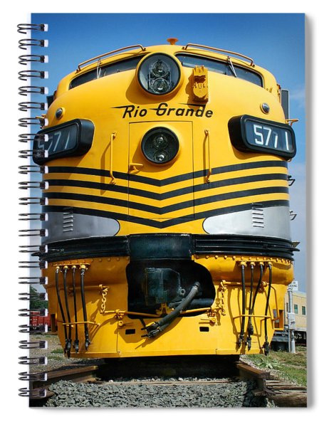 Rio Grande At Its Prime Spiral Notebook