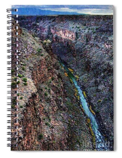 Rio Grande River Gorge Spiral Notebook