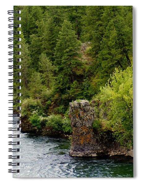 Rockin The Spokane River Spiral Notebook