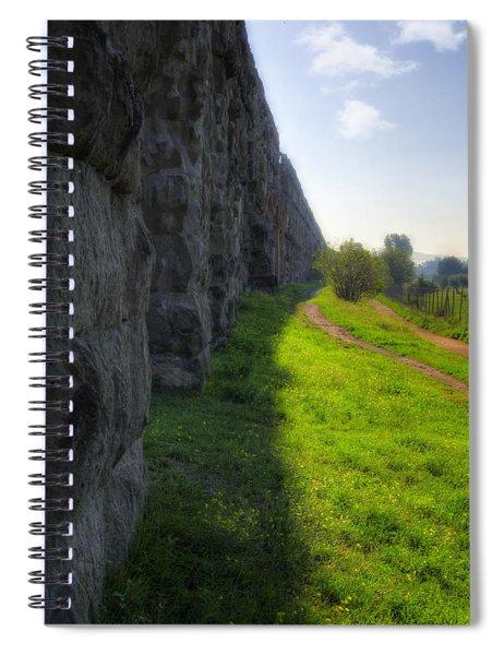 Roman Aqueducts Spiral Notebook