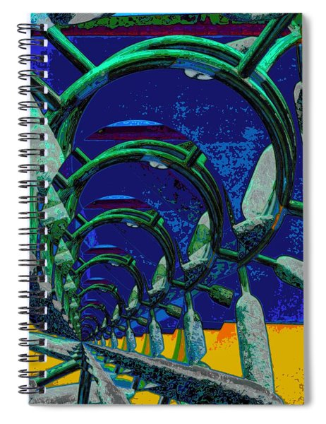 Route 66 2050 Spiral Notebook