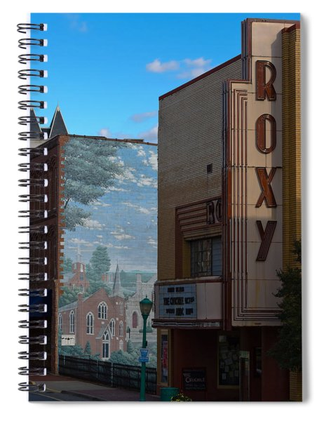 Roxy Theater And Mural Spiral Notebook