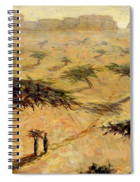 Sahelian Landscape Spiral Notebook