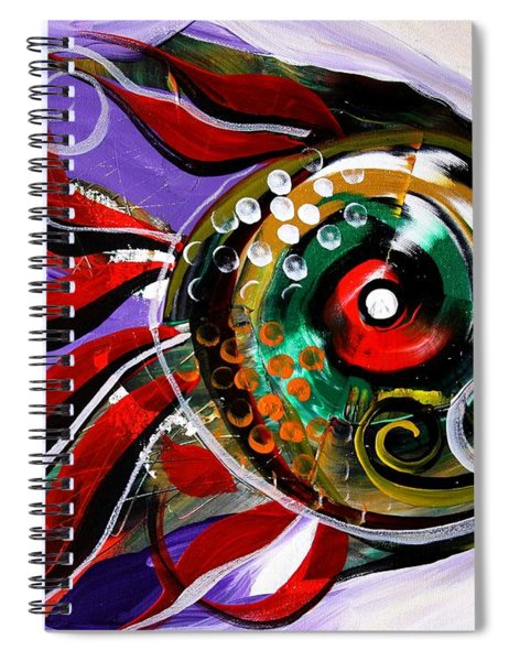 Salvador Dali Octo Fish Spiral Notebook