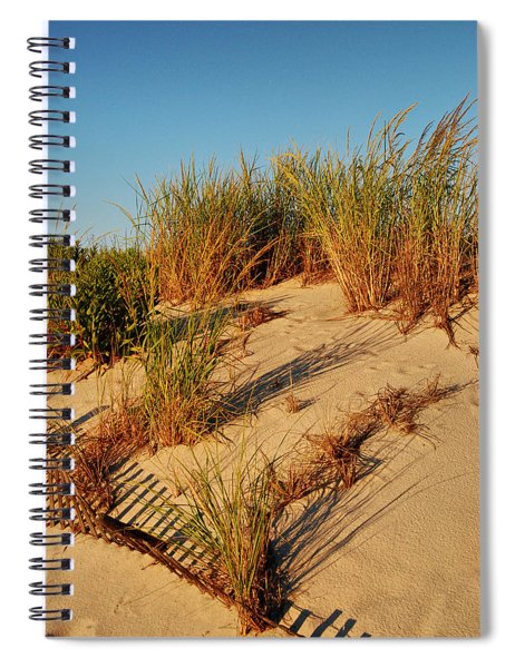Sand Dune II - Jersey Shore Spiral Notebook