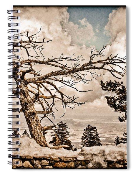 Albuquerque, New Mexico - Sandia Crest Spiral Notebook