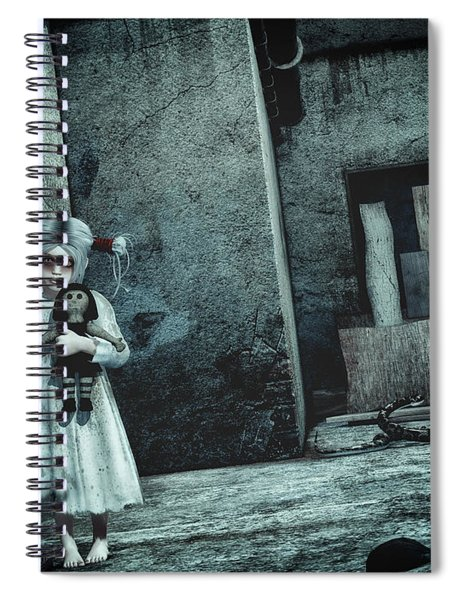 Scary Place Spiral Notebook