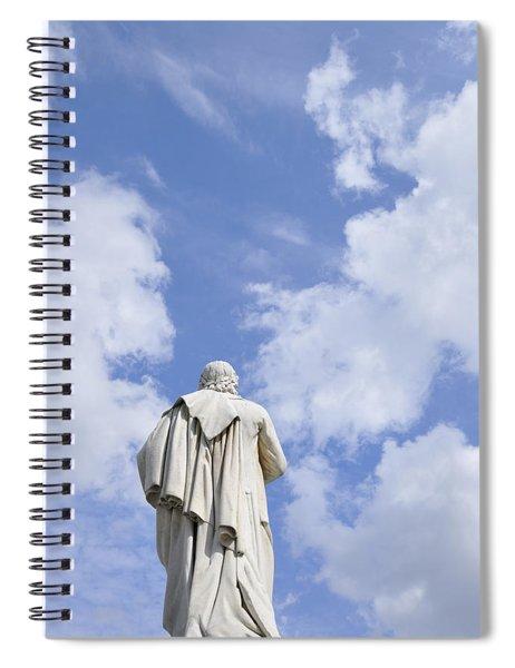 Schiller Monument In Berlin Spiral Notebook