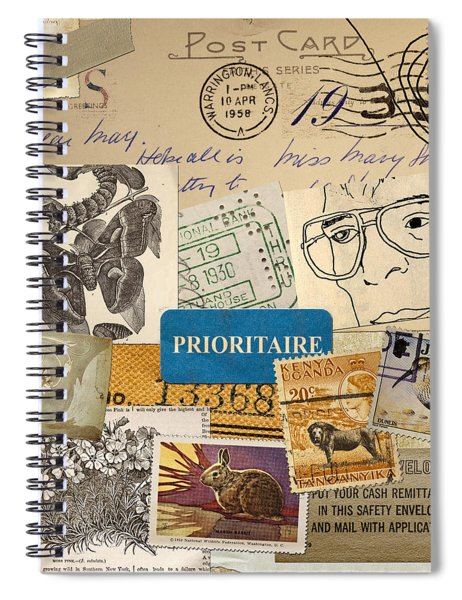 Scrapbook Page Number 2 Spiral Notebook