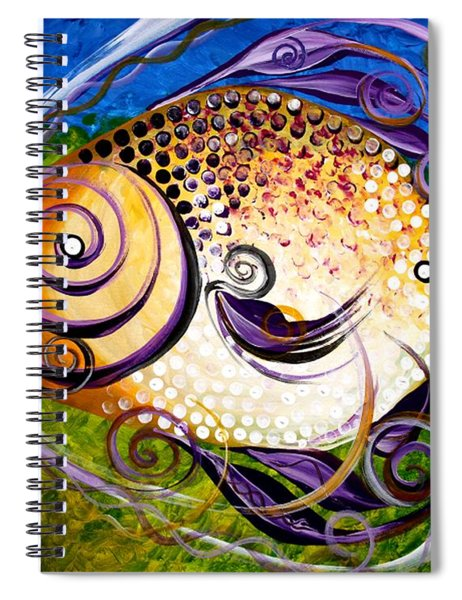 Seagrass And Sultry Non-subtlety Spiral Notebook