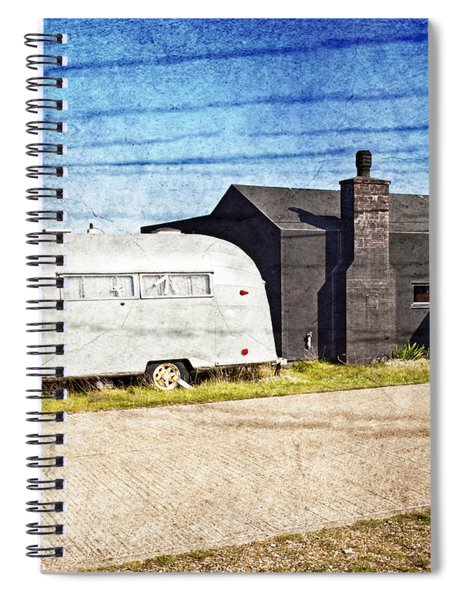 Seaside Resort Spiral Notebook