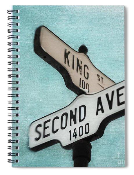 second Avenue 1400 Spiral Notebook by Priska Wettstein