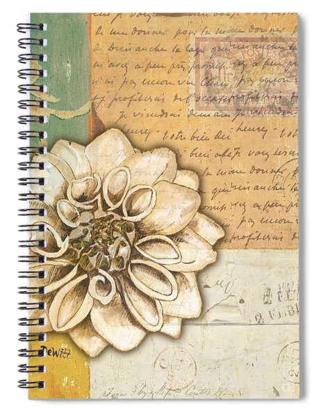 Shabby Chic Floral 1 Spiral Notebook
