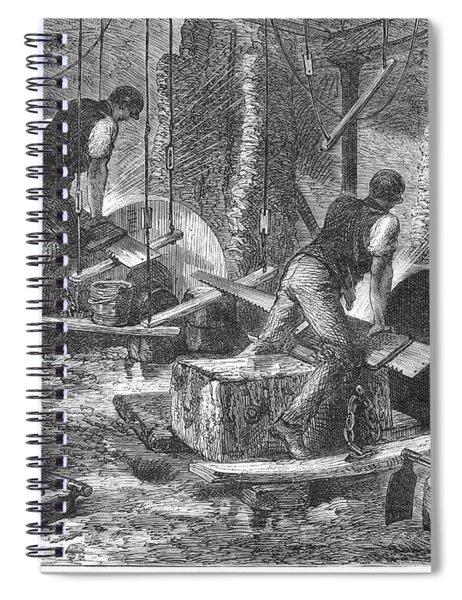 Sheffield: Factory, 1865 Spiral Notebook