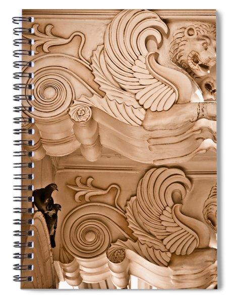 Athens, Greece - Shelter Spiral Notebook