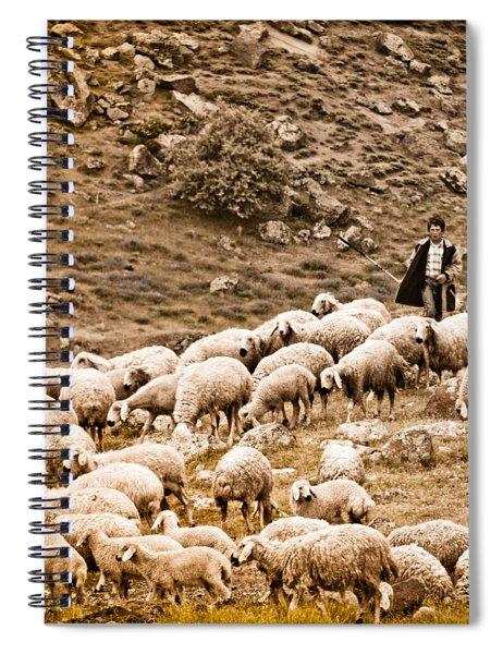 Guzelyurt, Turkey - Shepherd Spiral Notebook