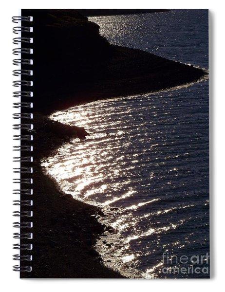 Shining Shoreline Spiral Notebook