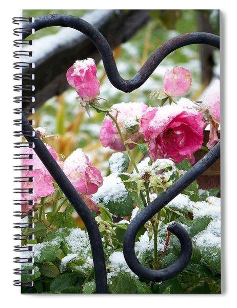 Shot Through The Heart Spiral Notebook