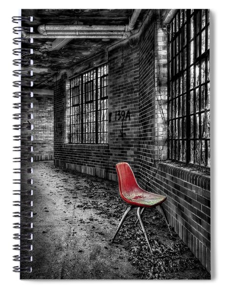 Silent Anticipations Spiral Notebook