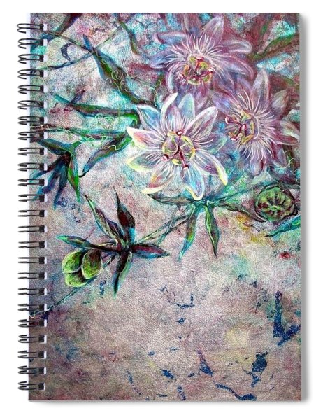 Silver Passions Spiral Notebook