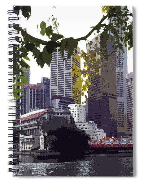 Singapore ... The Lion City  Spiral Notebook