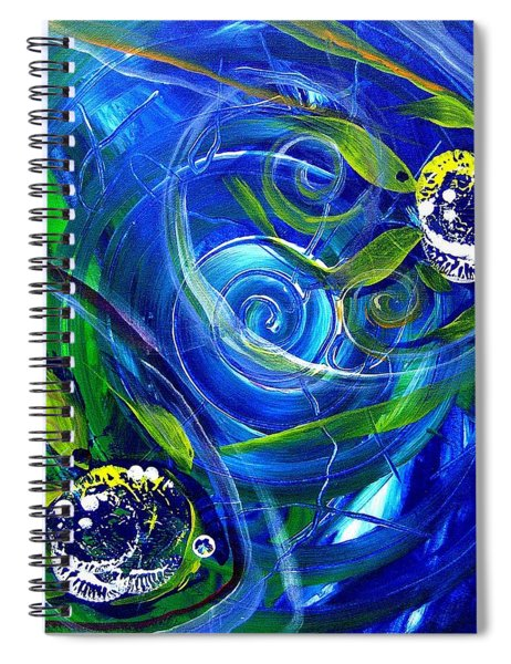 Six Subtle Ups And Downs 3 Spiral Notebook