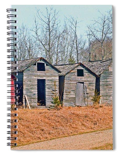 Smokehouse Row Spiral Notebook