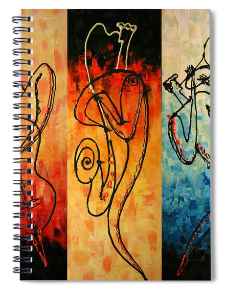 Smooth Jazz Spiral Notebook