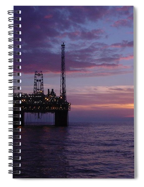 Snorre Sunset Spiral Notebook