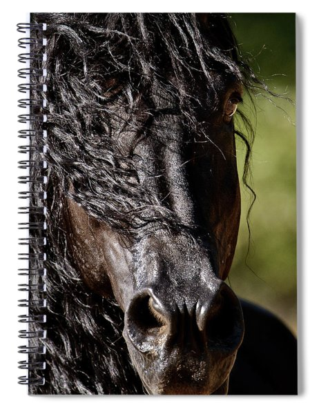 Snorting Good Looks Spiral Notebook