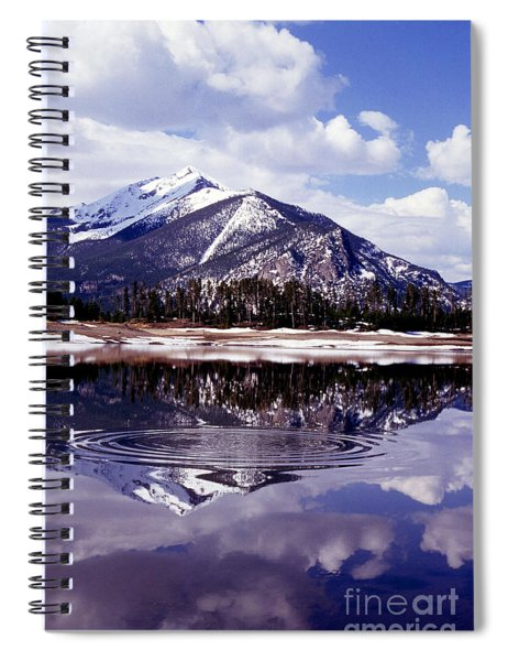 Snowmelt Runoff In The Rocky Mountains Spiral Notebook