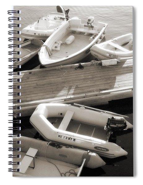 Softly Floating Spiral Notebook