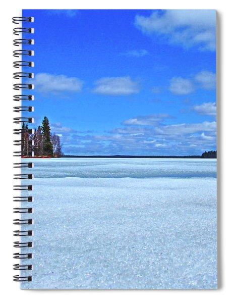 Solar Melt Spiral Notebook