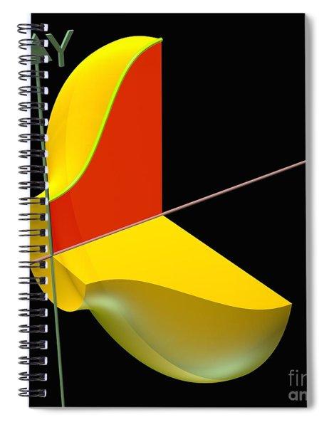 Solid Of Revolution 1 Spiral Notebook