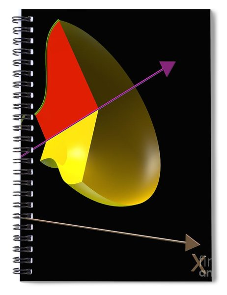Solid Of Revolution 4 Spiral Notebook