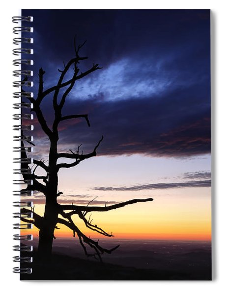 Something Wicked This Way Comes Spiral Notebook