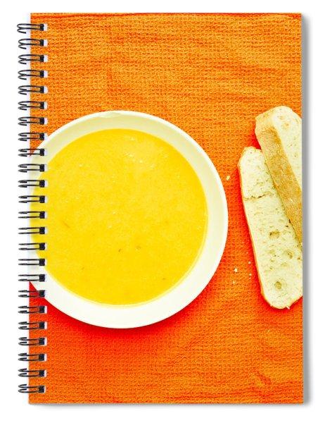 Soup Spiral Notebook