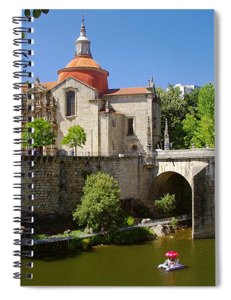 St Goncalo Cathedral Spiral Notebook