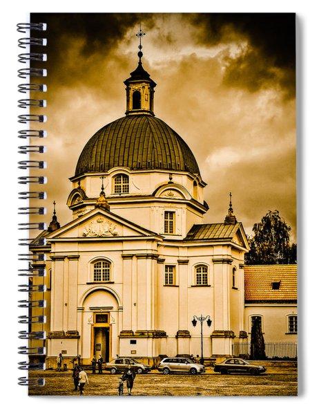 Warsaw, Poland - St. Kazimierz Spiral Notebook